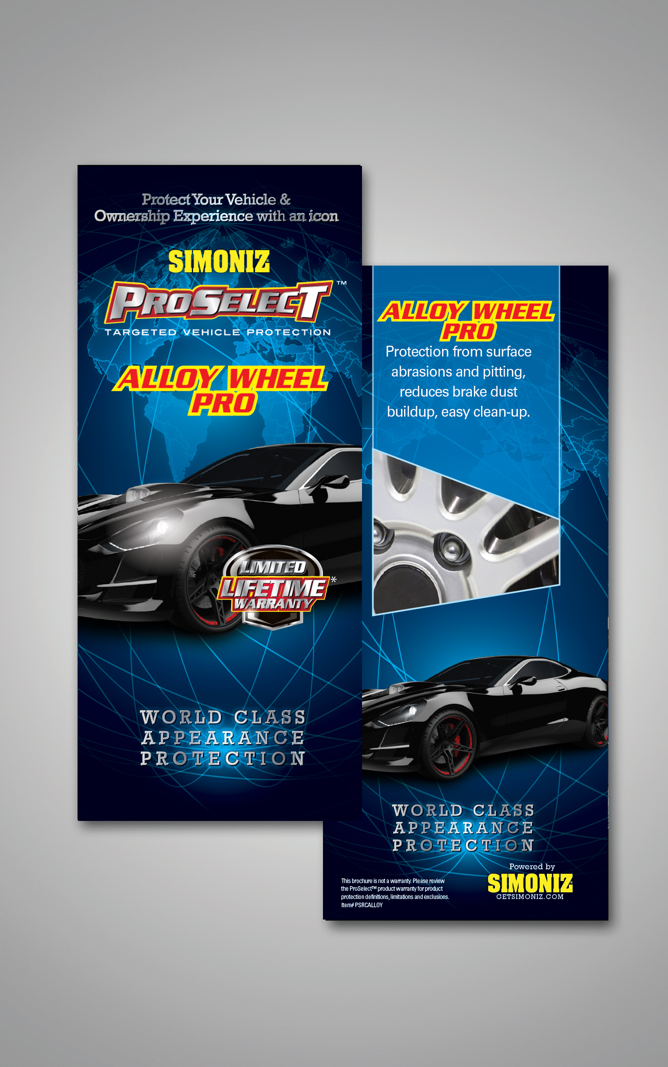 Alloy Wheel Pro Rack Card