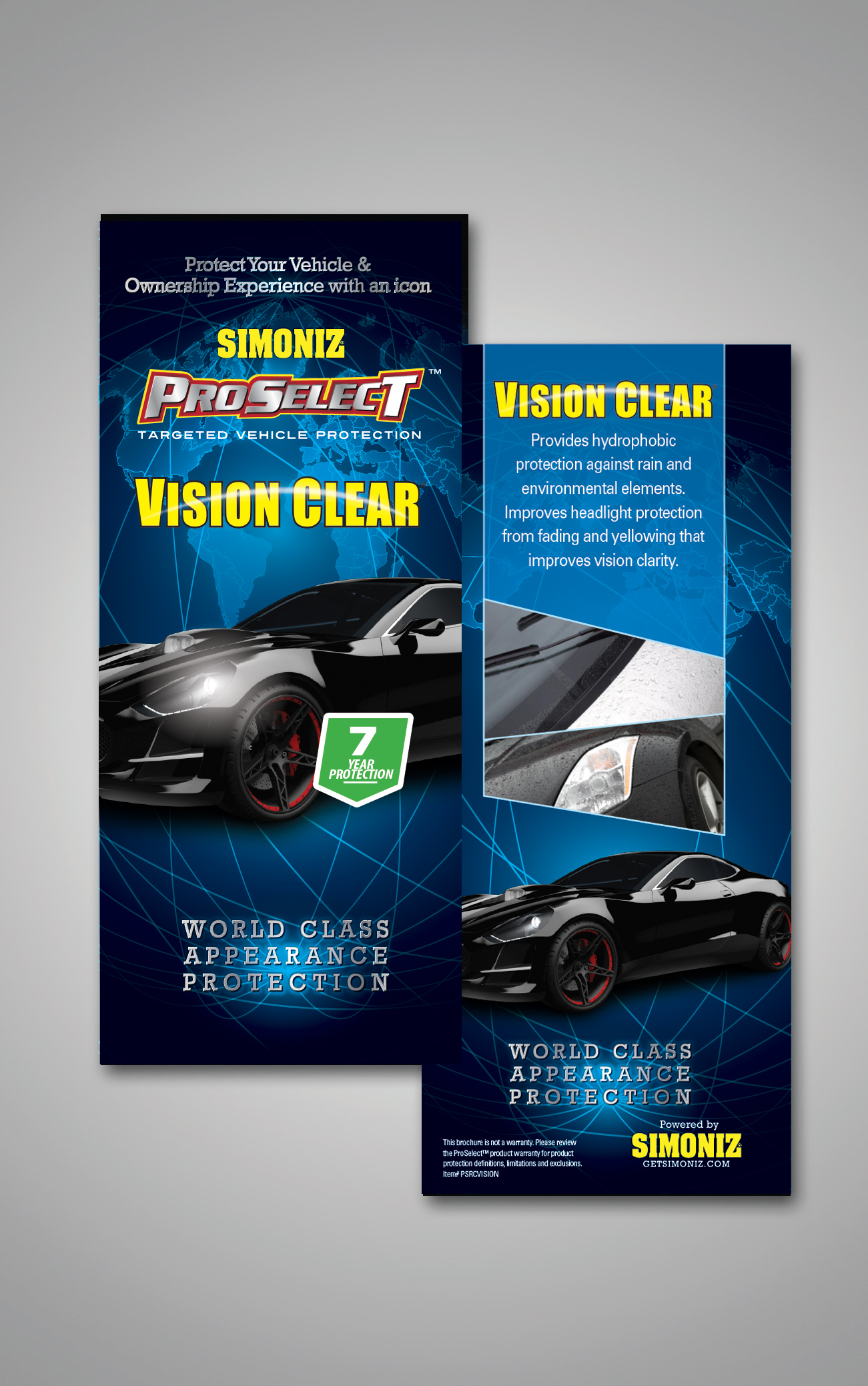 Vision Clear Rack Card